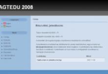 AGTEDU 2008 - képernyőkép
