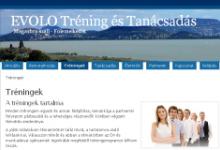 EVOLO Tréning és Tanácsadás - képernyőkép