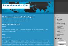 Factory Automation 2010 - képernyőkép