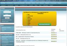 Felsofok.com - képernyőkép