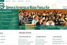 GAMF honlap - képernyőkép