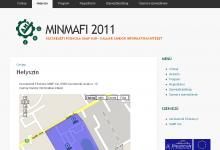 MINMAFI 2011 konferencia képernyőkép