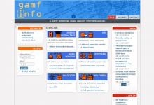 GAMF info képernyőkép