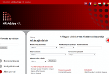 HR Advise Kft. - képernyőkép