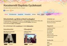 Kecskeméti Baptista Gyülekezet - képernyőkép