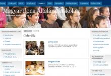 Magyar Ilona Általános Iskola - képernyőkép
