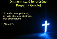 Online misszió lehetőségei - előadás vázlat