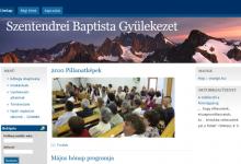 Szentendrei Baptista Gyülekezet - képernyőkép