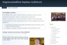 Szigetszentmiklósi Baptista Gyülekezet - képernyőkép