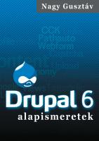 Nagy Gusztáv: Drupal 6 alapismeretek - borító